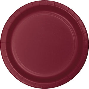 Lunch Plates - Burgundy 24ct
