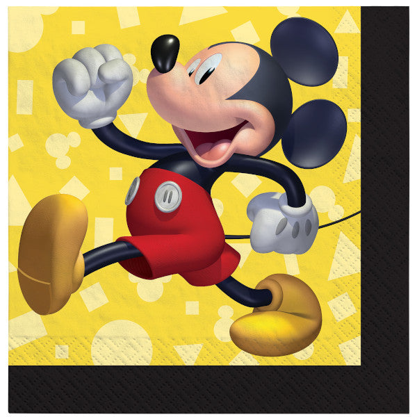 Beverage Napkins - Mickey Mouse 16ct