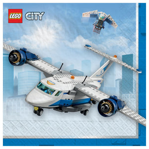 Lunch Napkins - Lego City 16ct