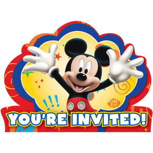 Invitations - Mickey Mouse 8ct