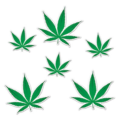 Weed Cutouts 6ct