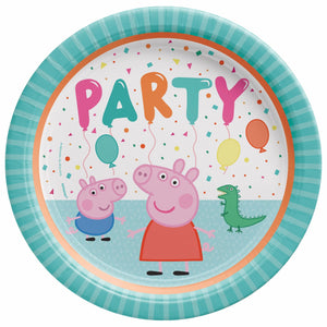 Lunch Plate - Peppa Pig 8ct