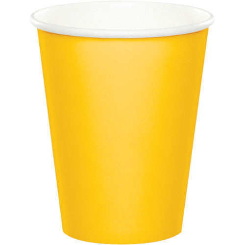 Cups - School Bus Yellow 24ct
