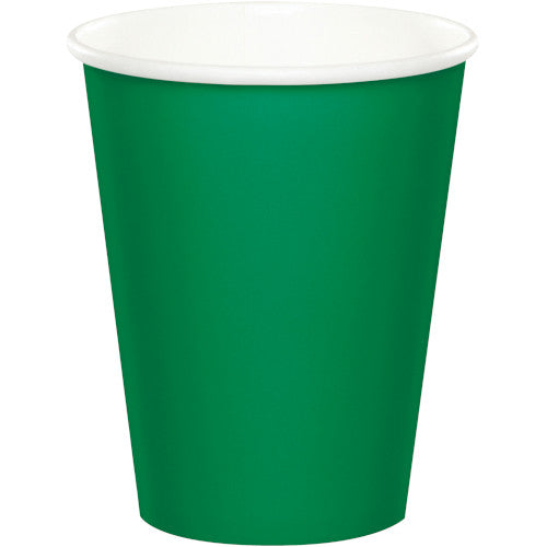 Cups - Emerald Green 24ct