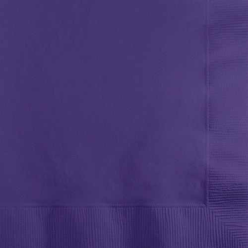 Lunch Napkins - Purple  50ct