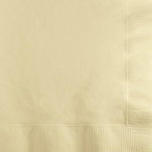 Beverage Napkins - Ivory 50ct