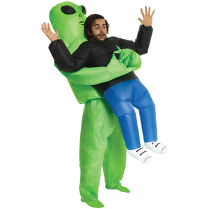 Inflatable Costume - Alien Pick Me Up
