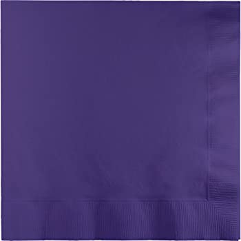 Beverage Napkins - Purple 50ct