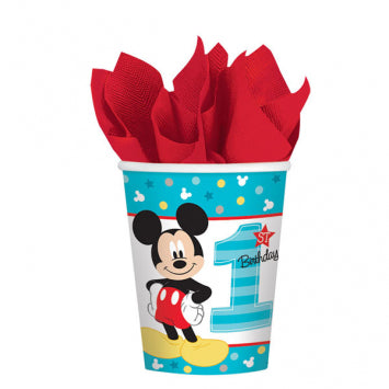 Cups - Micky's 1st Bday 8ct