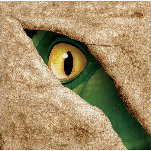 Beverage Napkins - Dino Blast 16ct