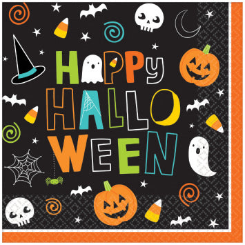 Lunch Napkins - Hallo-ween Friends 125ct