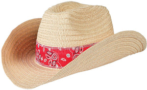 Cowboy Hat With Red Band
