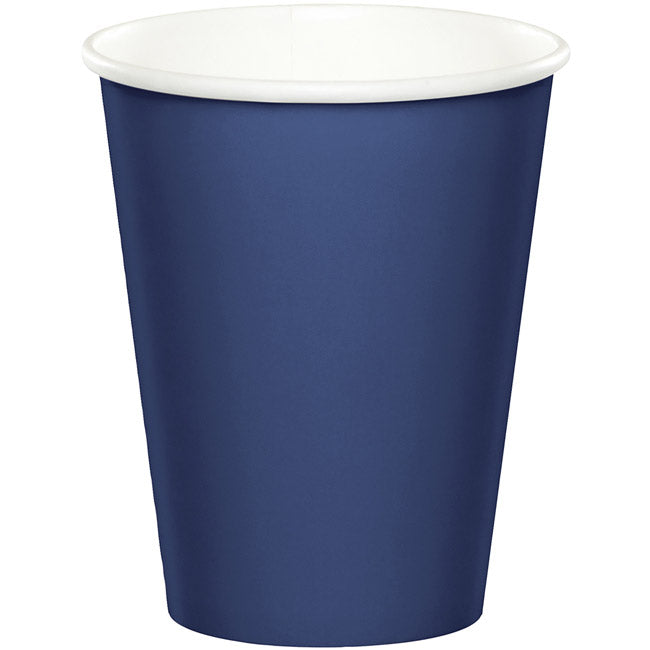 Cups - Navy Blue 24 ct