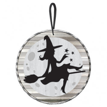 Witch Mini Hanging Sign