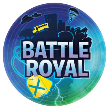 Lunch Plates - Battle Royal 8ct