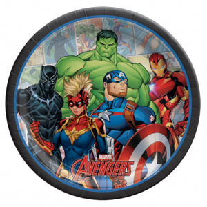 Lunch Plates - Avengers 8ct