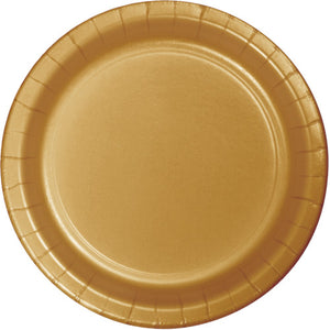 Lunch Plates - Glittering Gold 24ct