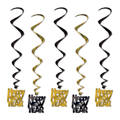 Whirls - Happy New Year Gold 5ct