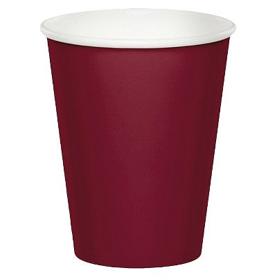 Cups - Burgundy 24ct