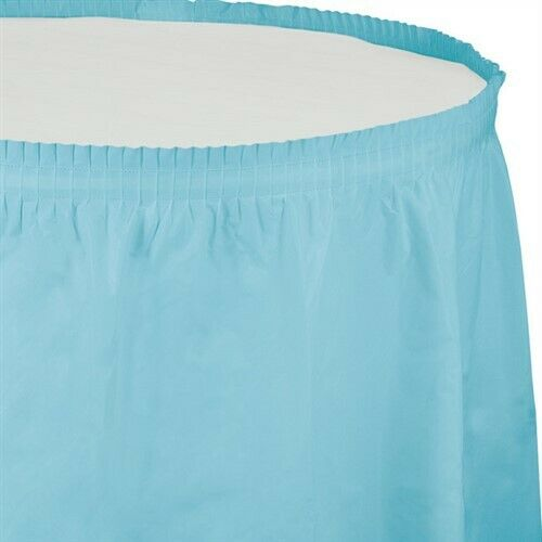 Table Skirt - Pastel Blue