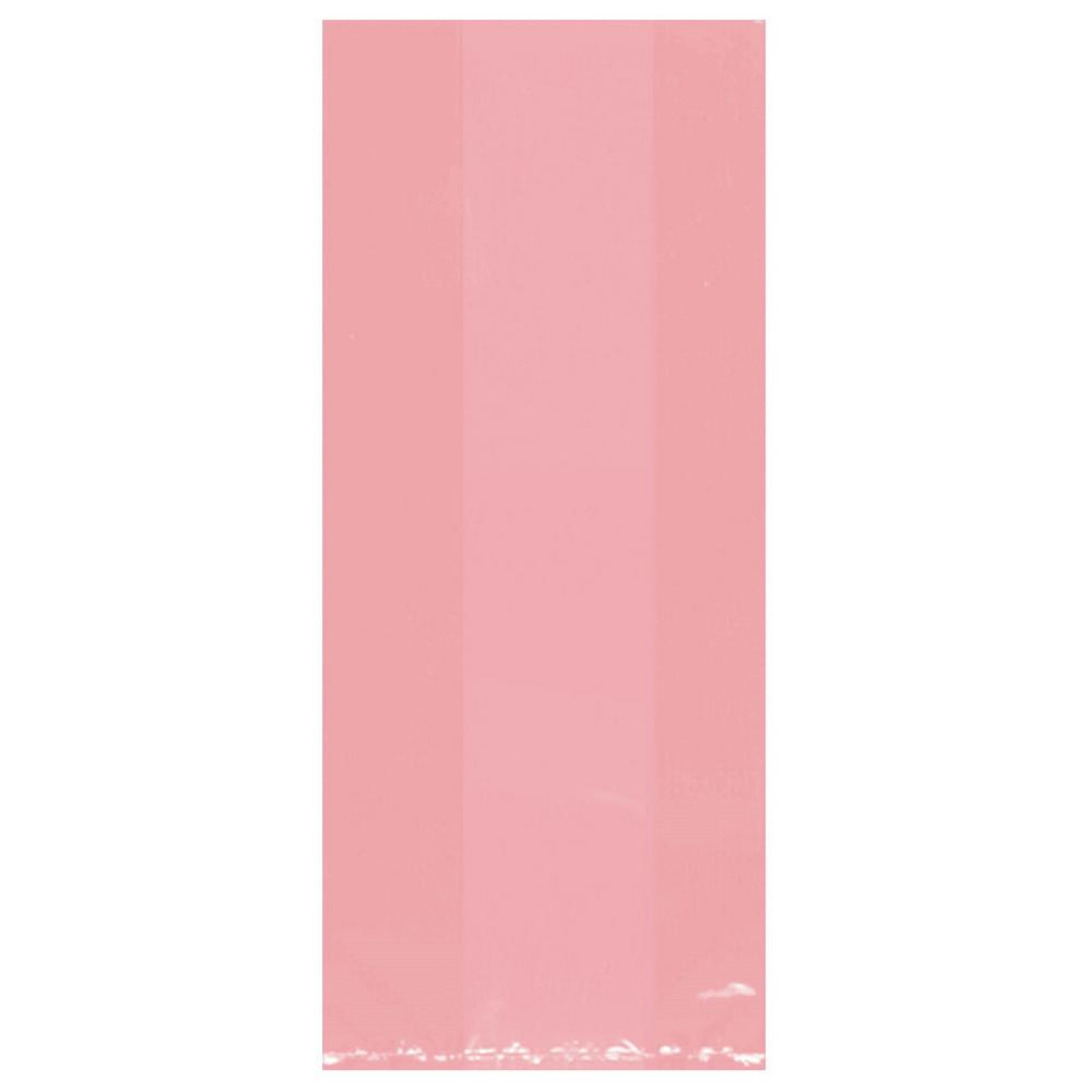 Cello Party Bags - Bright Pink 25ct