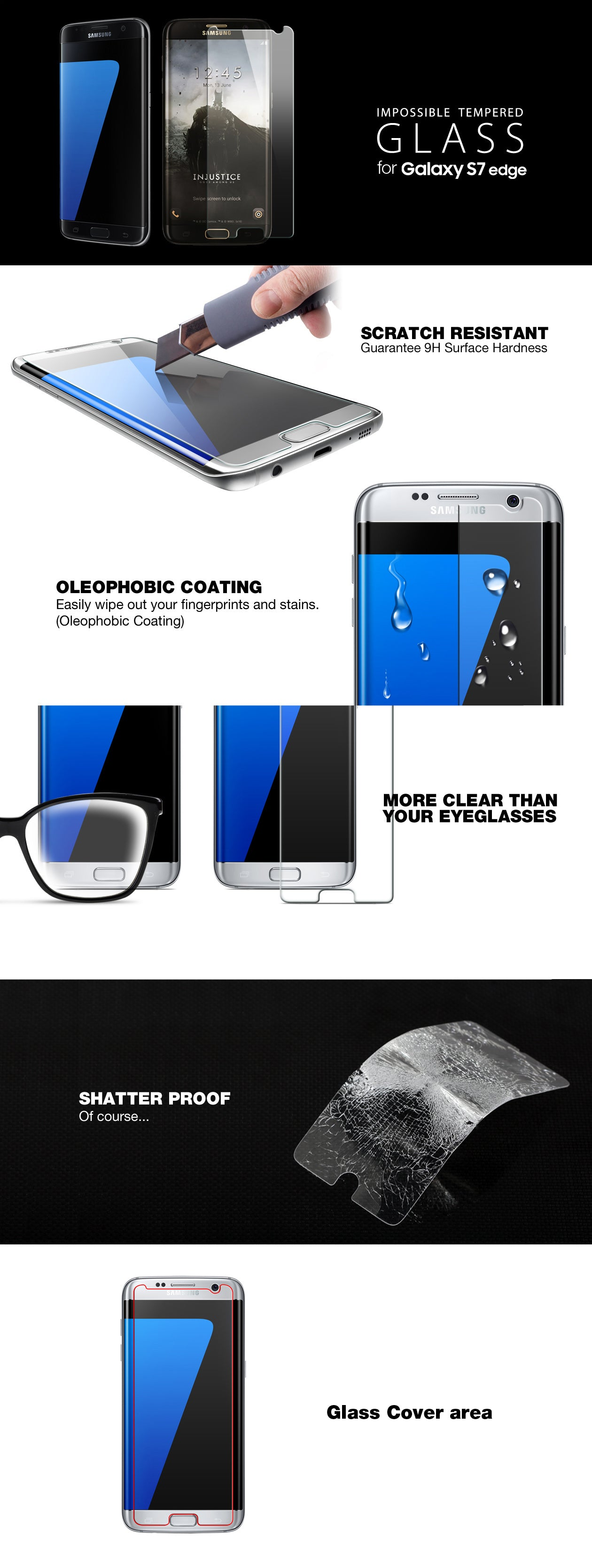 Patchworks ITG Plus Galaxy s7 edge screen protector tempered glass detail 01