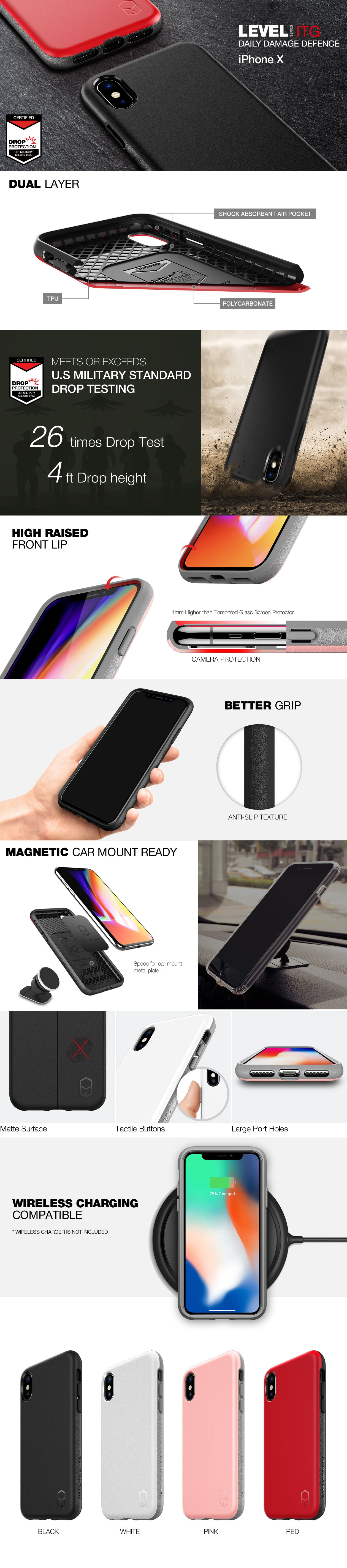 Patchworks Level ITG case for iPhone X
