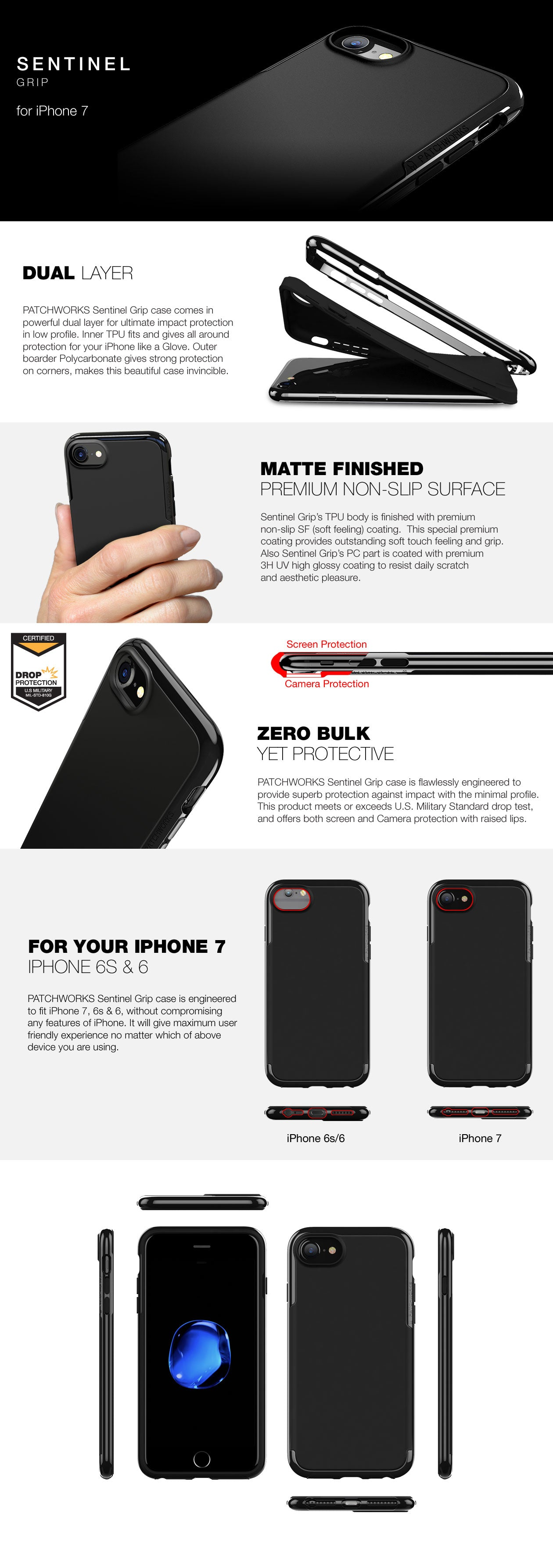Sentinel Grip iPhone 7