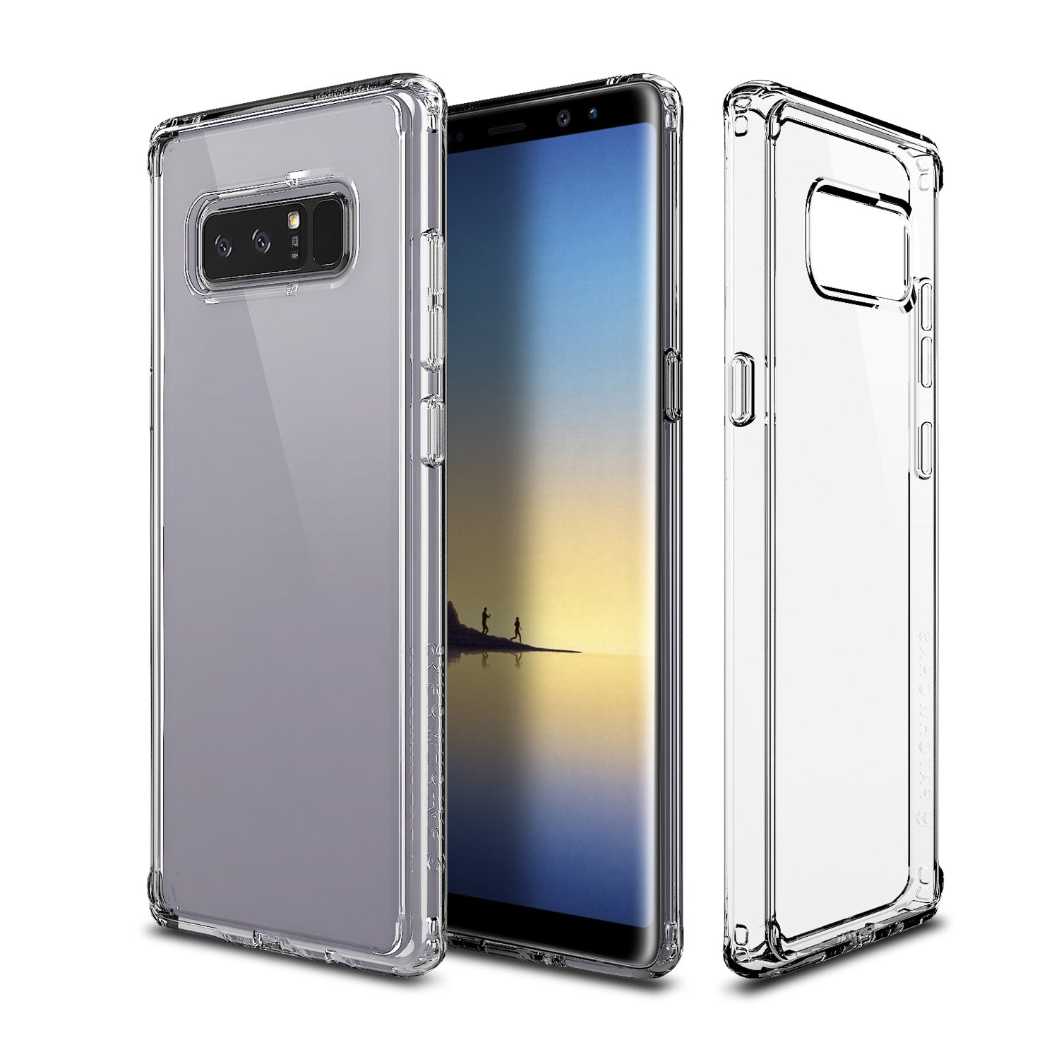 GALAXY NOTE 8 CASE - PURE SHIELD (Lumina)