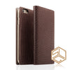 iPhone 6s /6 Premium Leather Wallet Case SLG D3 ITALIAN LIZARD - Patchworks Global Inc - 2
