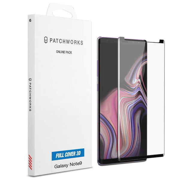 GALAXY NOTE 9 GLASS SCREEN PROTECTOR - ITG 3D FULL COVER