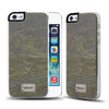iPhone SE / 5s / 5 Snap case CLASSIQUE STONE SLATE - Patchworks Global Inc - 4