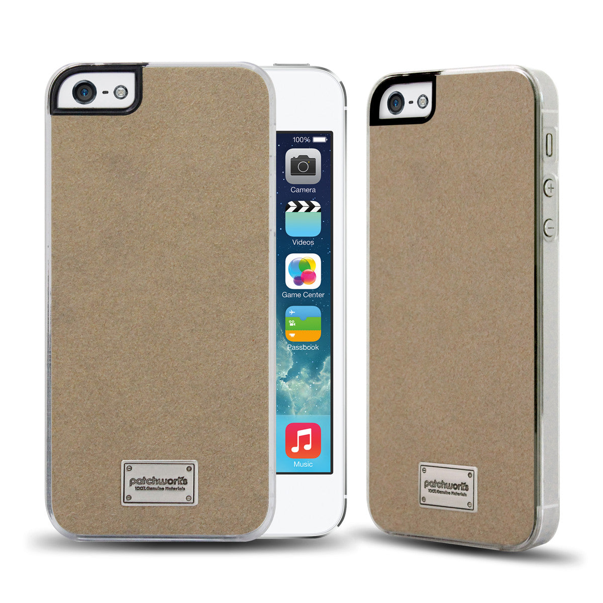 iPhone SE / 5s / 5 Snap Case CLASSIQUE ULTRASUEDE - Patchworks Global Inc - 1