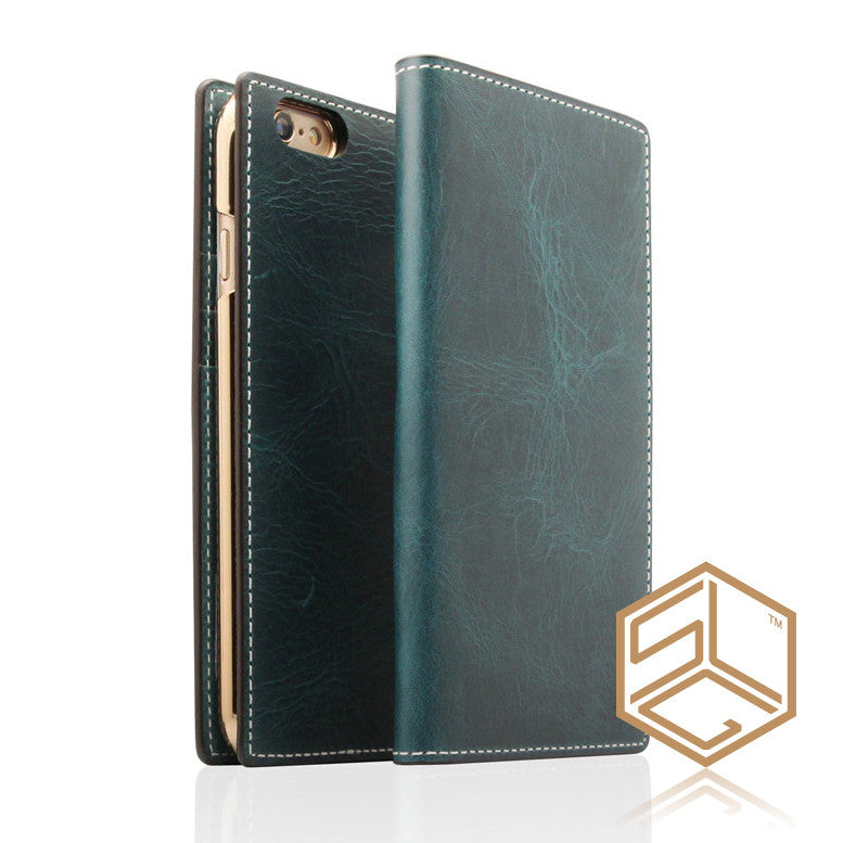 IPHONE 6S PLUS / 6 PLUS Italian Wax Leather case SLG D7 - Patchworks Global Inc - 3