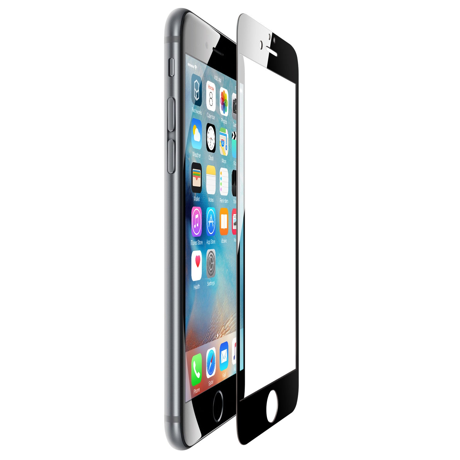 iPhone 6s Plus / 6 Plus Glass Screen Protector ITG FULL COVER - Patchworks Global Inc  - 7