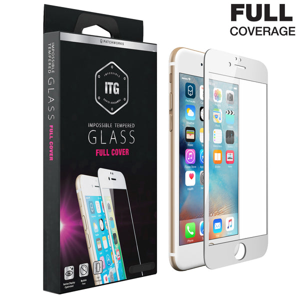 iPhone 6s / 6 Glass Screen Protector ITG FULL COVER - Patchworks Global Inc  - 1