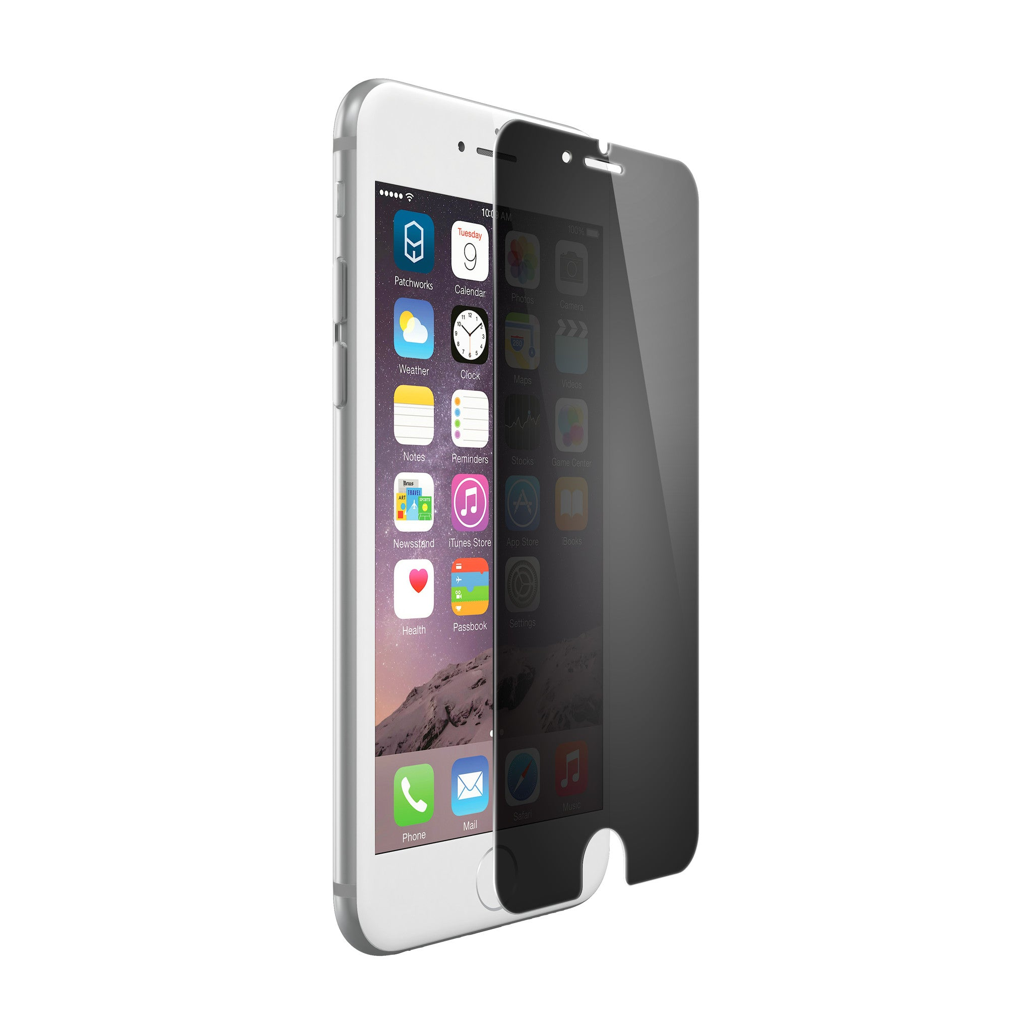 ITG PRO Privacy Tempered Glass for iPhone 6s Plus & 6 Plus - Patchworks Global Inc - 1