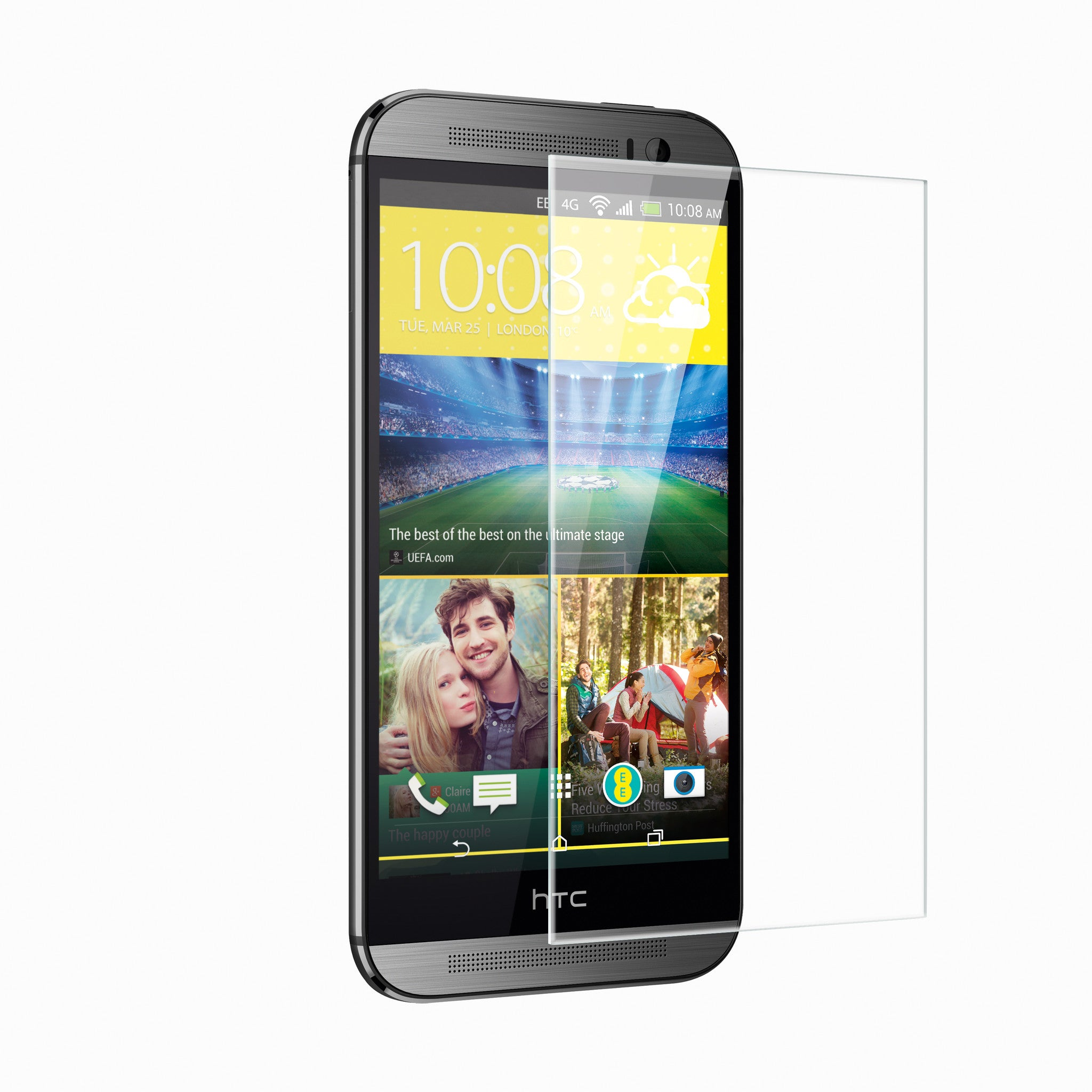 ITG PRO Plus Tempered Glass for HTC one M8 - Patchworks Global Inc