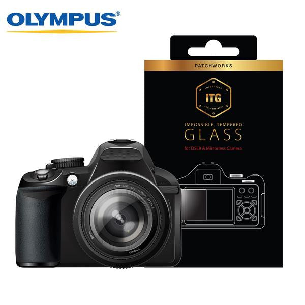 OLYMPUS DSLR & Mirrorless Camera Glass Screen Protector ITG PRO PLUS