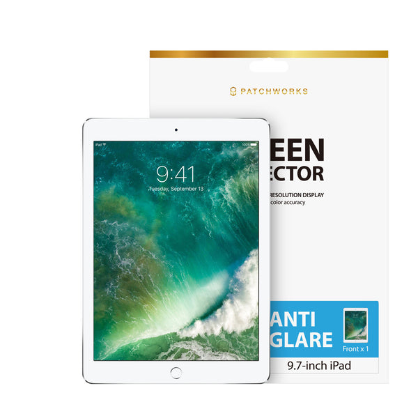 IPAD 9.7 INCH(2017) - ANTI-GLARE SCREEN PROTECTOR