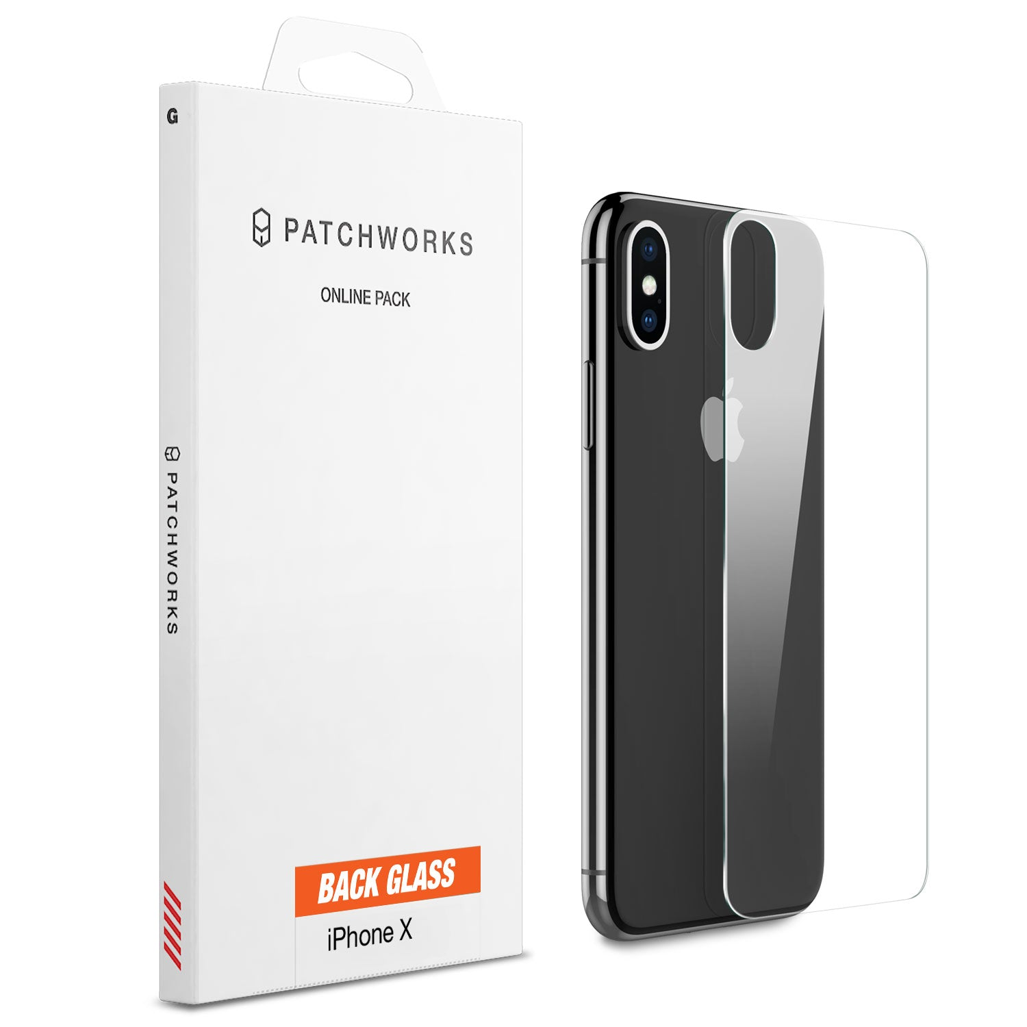 IPHONE X GLASS SCREEN PROTECTOR - ITG BACK GLASS