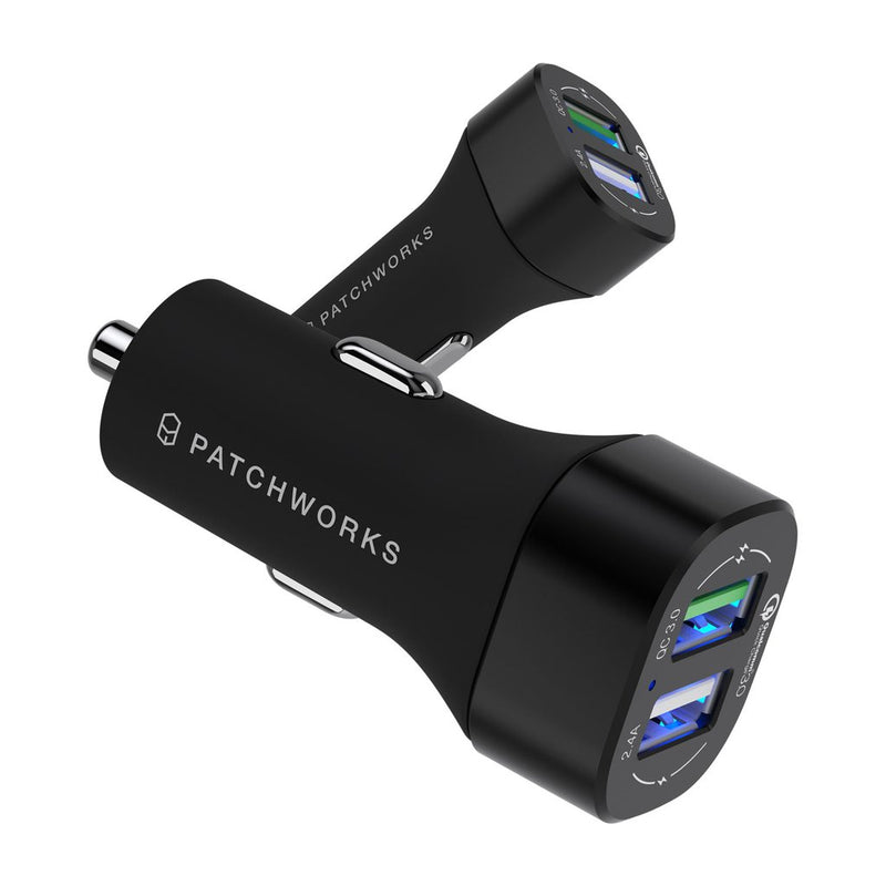 Qualcomm 3.0 Dual Port Quick Car Charger