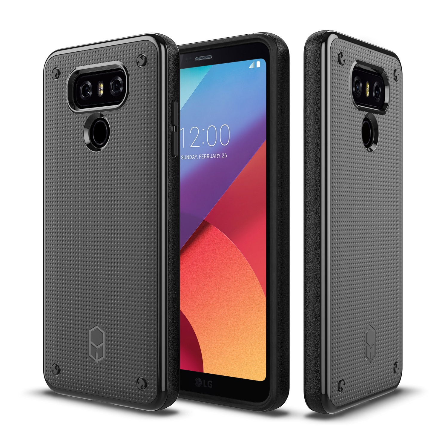 LG G6 - FLEXGUARD CASE WITH PORON XRD