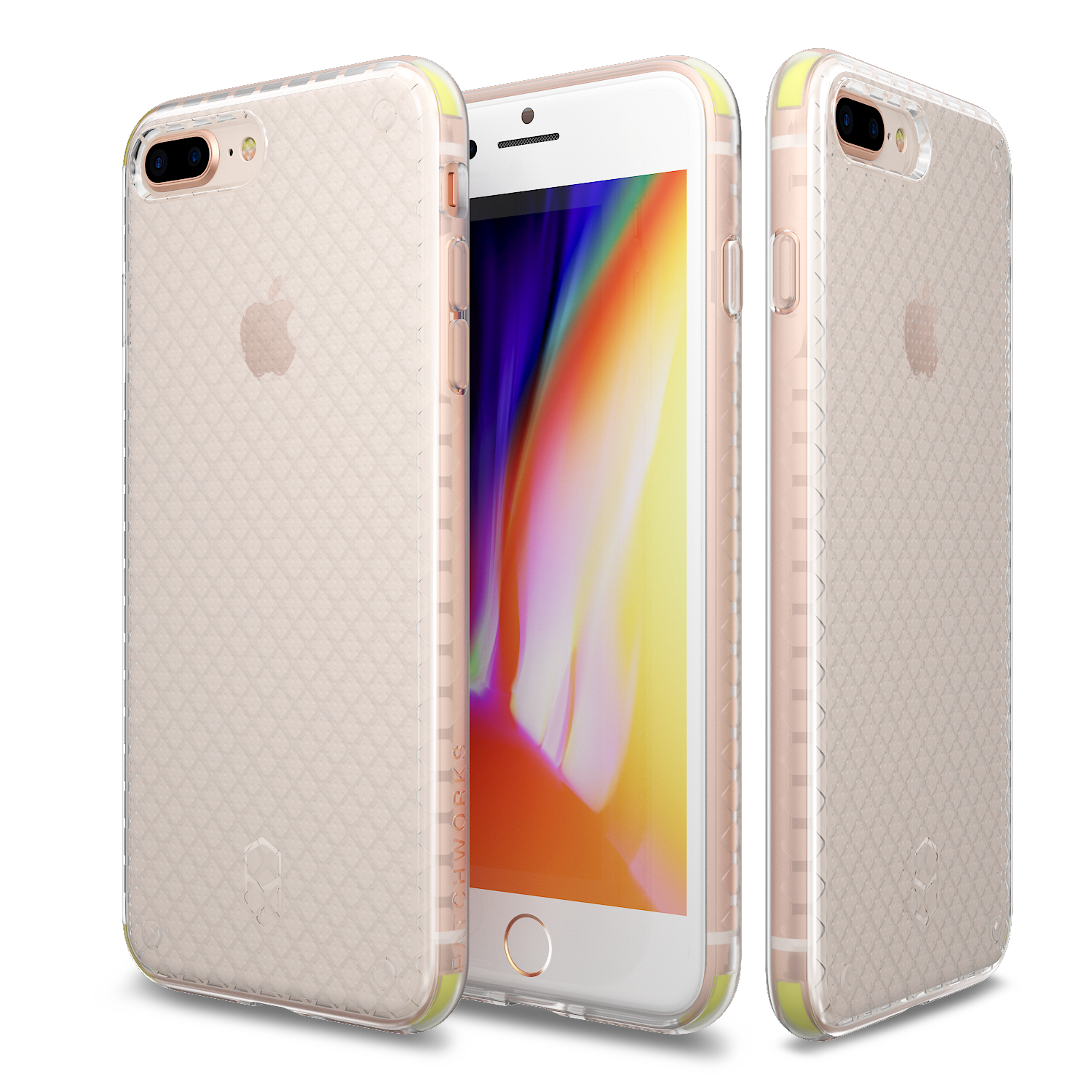 IPHONE 8 PLUS / 7 PLUS CASE - FLEXGUARD CLEAR