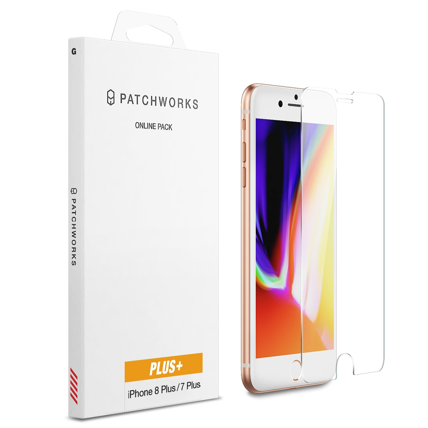 IPHONE 8 PLUS / 7 PLUS  GLASS SCREEN PROTECTOR - ITG PLUS
