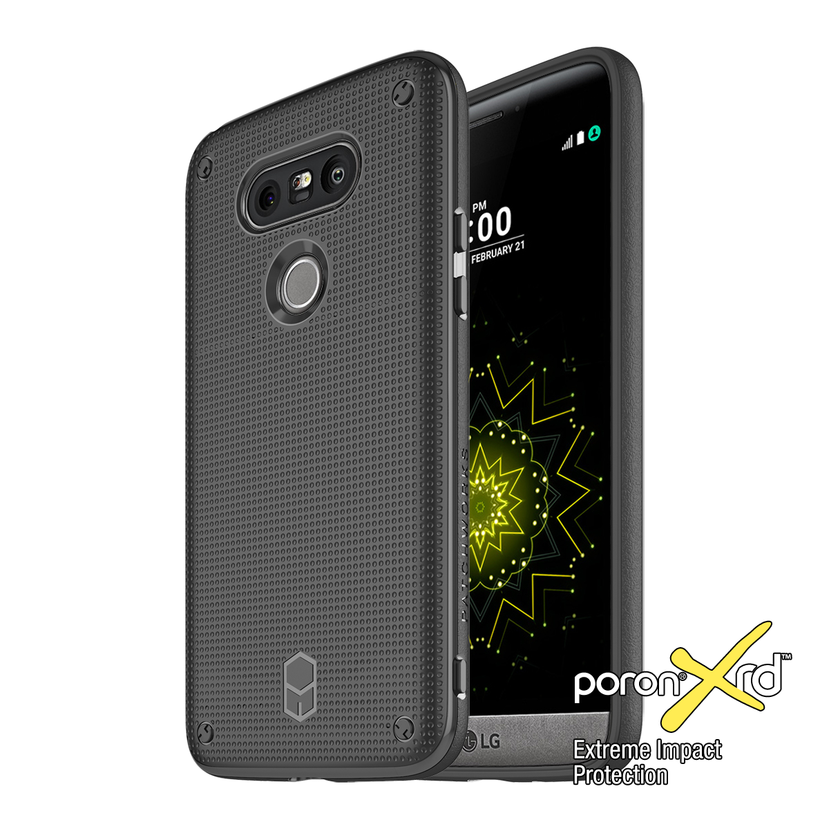 LG G5 FLEXGUARD CASE WITH PORON XRD - Patchworks Global Inc - 1
