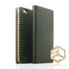 iPhone 6s PLUS /6 PLUS Premium Leather Wallet Case SLG D3 ITALIAN LIZARD - Patchworks Global Inc - 3