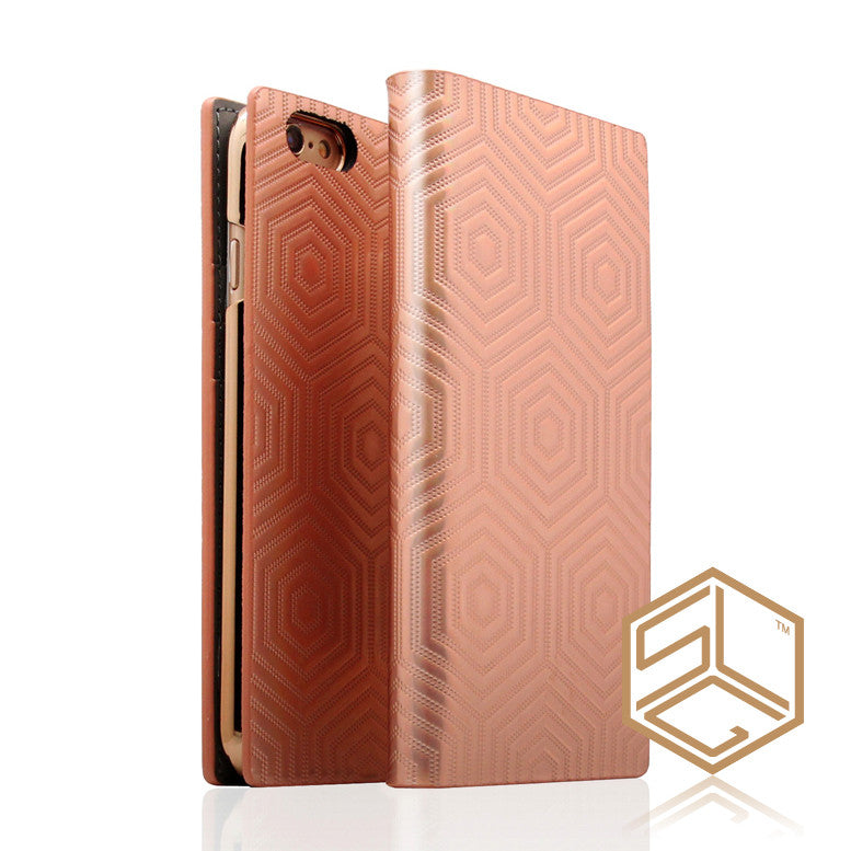 IPHONE 6S PLUS / 6 PLUS PREMIUM METALLIC LEATHER CASE SLG D4 - Patchworks Global Inc - 2
