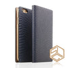 iPhone 6s PLUS /6 PLUS Premium Leather Wallet Case SLG D3 ITALIAN LIZARD - Patchworks Global Inc - 4