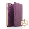 iPhone 6s /6 Premium Leather Wallet Case SLG D3 ITALIAN LIZARD - Patchworks Global Inc - 5